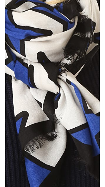 Marc Jacobs Stars Stole Scarf