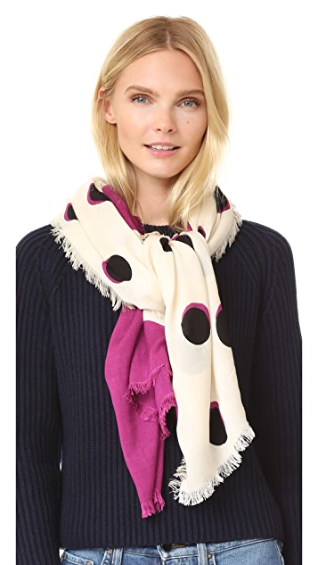 Marc Jacobs Shadow Spot Stole Scarf