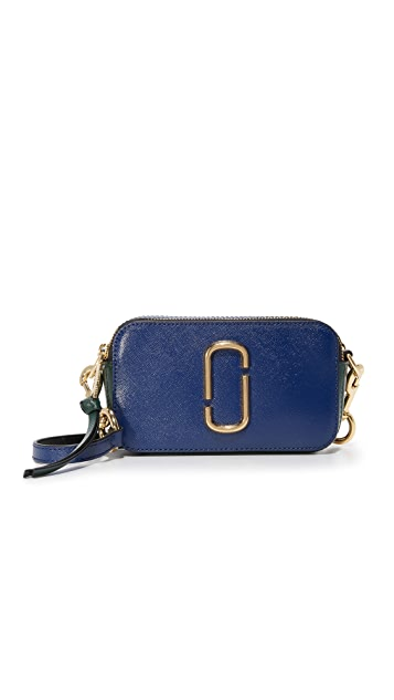 Snapshot small camera bag - Blue Marc Jacobs X81wk