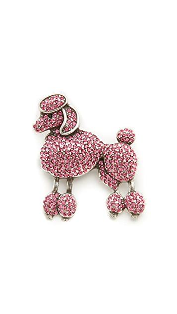 Marc Jacobs Small Poodle Brooch