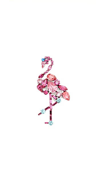 Marc Jacobs Flamingo Brooch