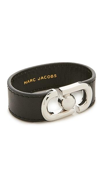 Marc Jacobs Icon Leather Magnet Bracelet