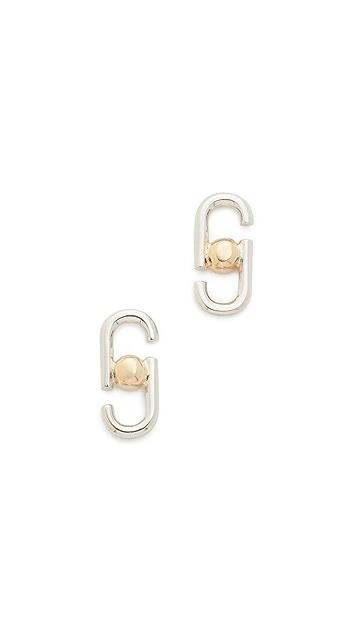 Marc Jacobs Icon Stud Earrings