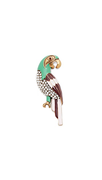 The Marc Jacobs Parrot Brooch