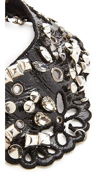 Marc Jacobs Daisy Leather Collar