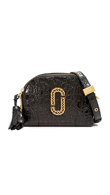 The Marc Jacobs Croc Embossed Shutter Camera Bag