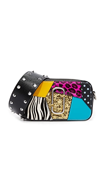 Marc Jacobs Snapshot Punk Patchwork Camera Bag