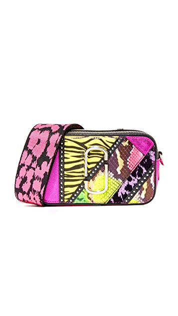 The Marc Jacobs 80s Patchwork Snapshot Camera Bag