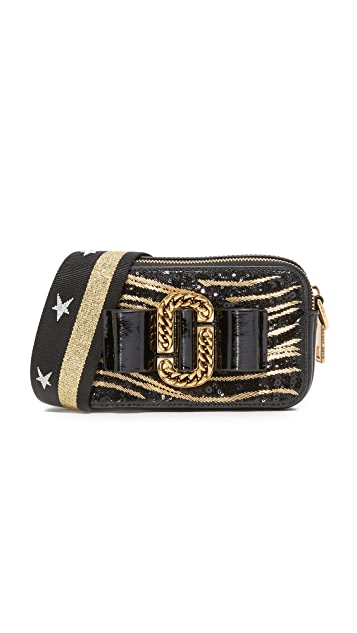 Marc Jacobs Zebra Bow Snapshot Bag
