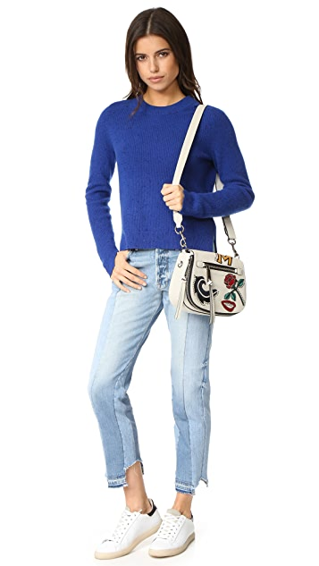 Marc Jacobs MJ Collage Small Nomad Saddle Bag