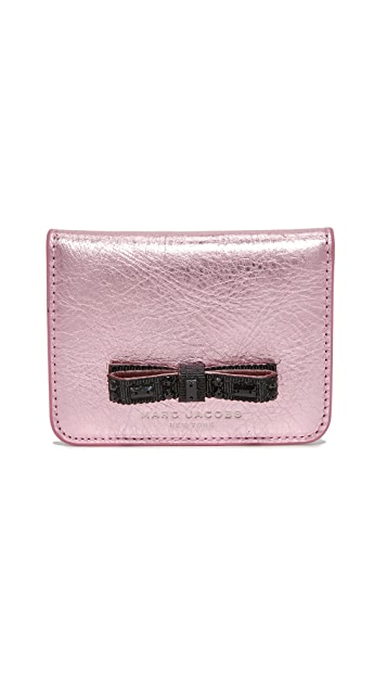 Marc Jacobs Bow Train Pass Case