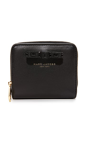 Marc Jacobs Bow Lil Zip Around Wallet