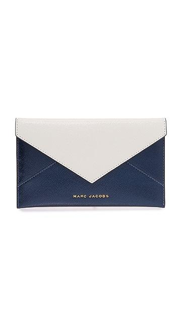 Marc Jacobs Bicolor Envelope Pouch