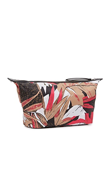 Marc Jacobs Palm Printed Biker Large Landscape Pouch
