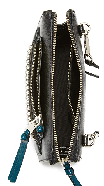 Marc Jacobs Madison Embellished Cross Body Bag