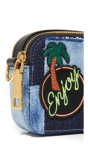 Marc Jacobs Denim Snapshot Camera Bag