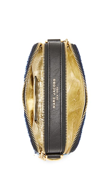 The Marc Jacobs Denim Snapshot Camera Bag