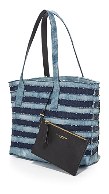 Marc Jacobs Denim Wingman Tote