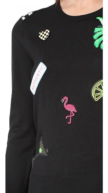 Marc Jacobs Scoop Crew Neck Sweater