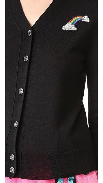Marc Jacobs Long Sleeve Cardigan