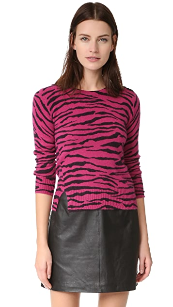 Marc Jacobs Tiger Stripe Cashmere Sweater