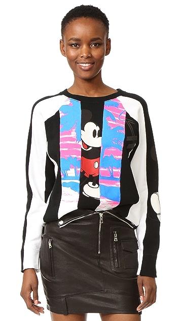 Marc Jacobs Long Sleeve Raglan Sweatshirt