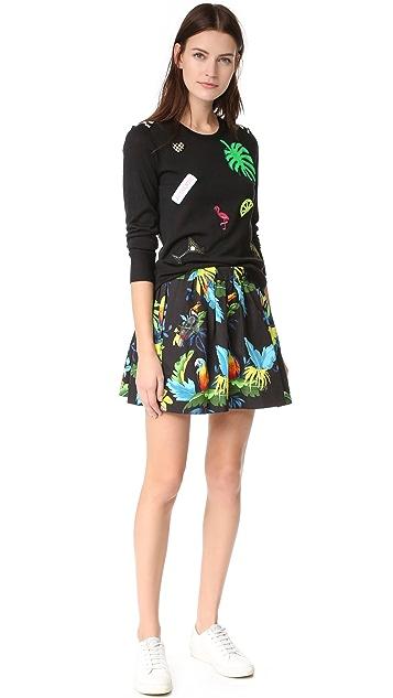 Marc Jacobs Parrot Poplin Shorts