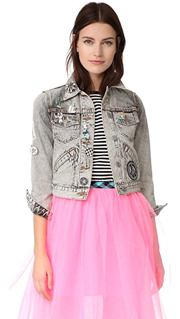 Marc Jacobs Bleach Denim Jacket