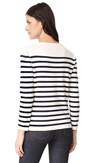 Marc Jacobs Long Sleeve Boat Neck Sweater