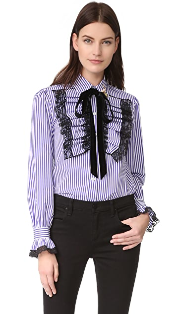 Marc Jacobs Long Sleeve Blouse