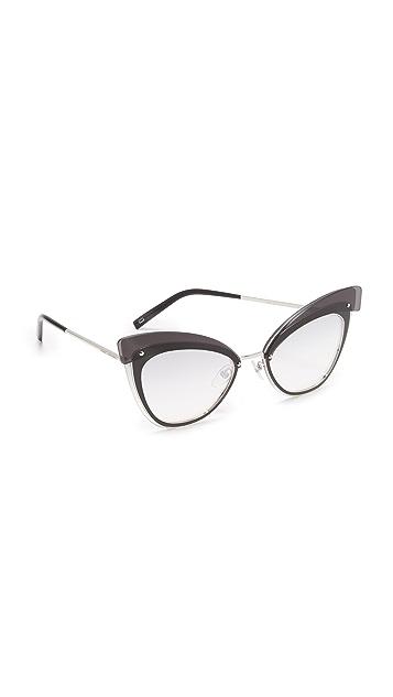 Marc Jacobs Layers Cat Eye Sunglasses