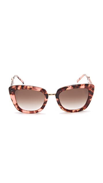 Marc Jacobs Metal Bridge Sunglasses