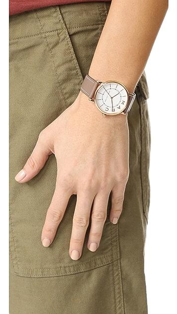 Marc Jacobs Roxy Leather Watch