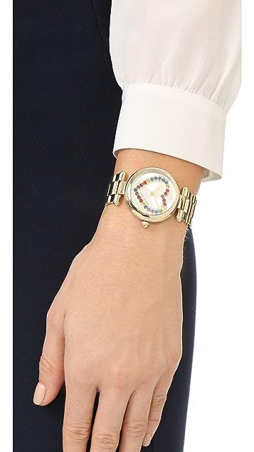 Marc Jacobs Dotty Heart Glitz Watch