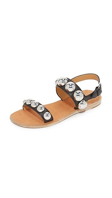 Marc Jacobs Magnetic Cabochon Sandals