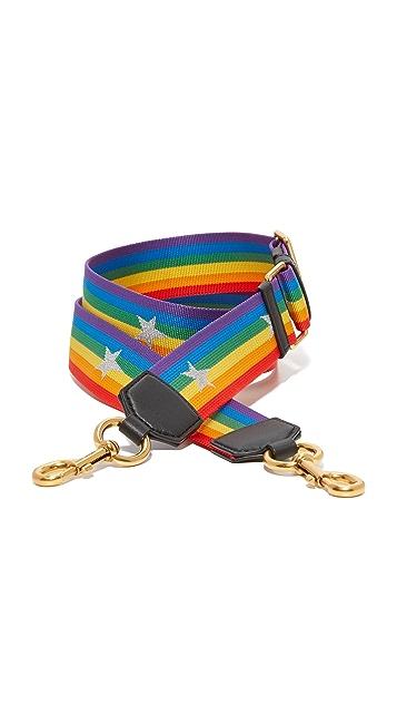 9f099510e740 Marc Jacobs Rainbow Handbag Strap With Stars