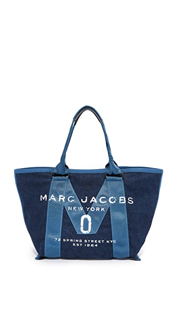 Marc Jacobs New Logo Small Denim Tote