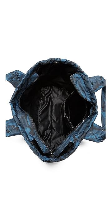 9b07f4d3b0b4 ... Marc Jacobs Camo Nylon Knot Baby Bag