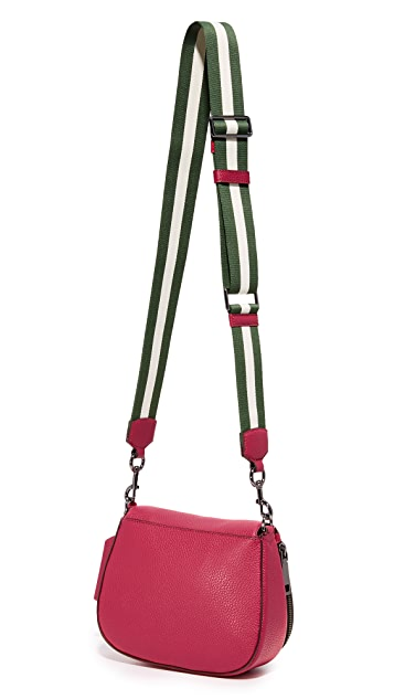 The Marc Jacobs Gotham Small Nomad Saddle Bag