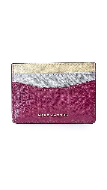 Marc jacobs tricolor card case shopbop marc jacobs tricolor card case colourmoves