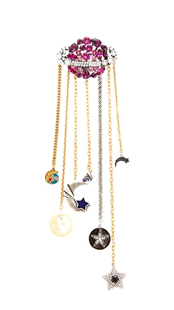 Marc Jacobs Planet Brooch