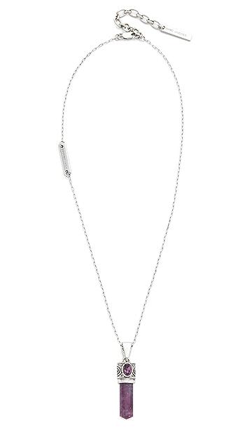 Marc Jacobs Gem of Fire Pendant Necklace