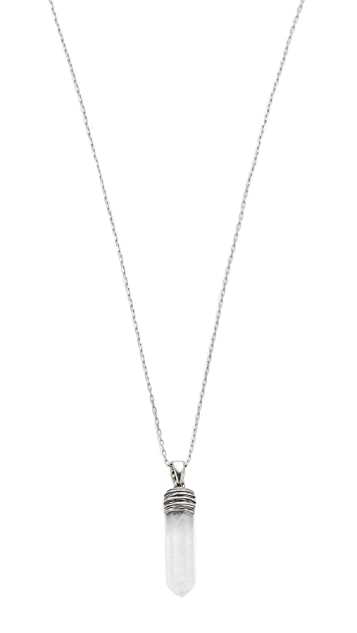 The Marc Jacobs Divinity Pendant Necklace