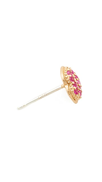 Marc Jacobs Lips Single Stud Earring