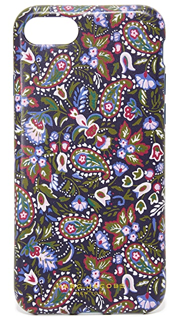 Marc Jacobs Garden Paisley iPhone 7 Case
