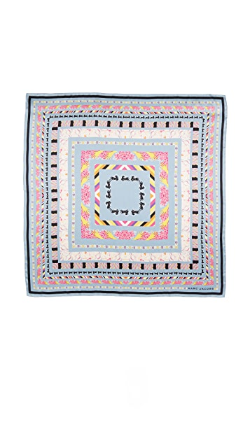 Marc Jacobs Doing Dishes Shawl