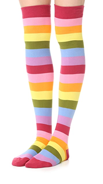Marc Jacobs High Leg Socks