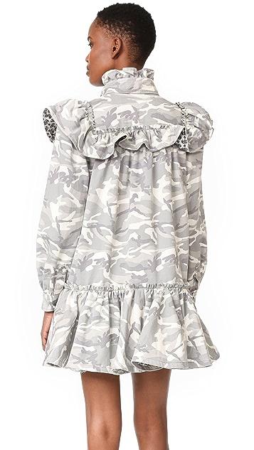 Marc Jacobs Babydoll Ruffle Dress