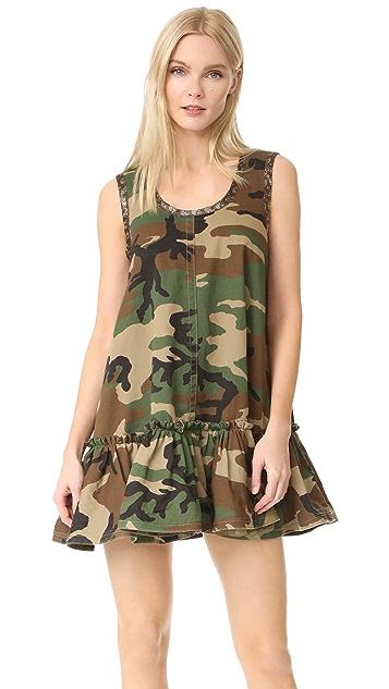 Marc Jacobs Sleeveless Camo Dress