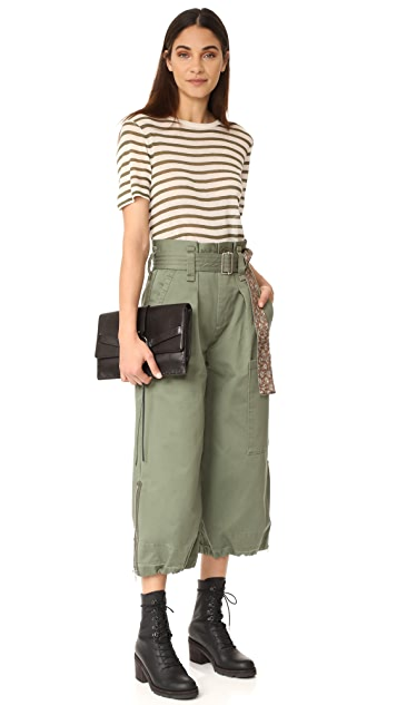 Marc Jacobs Belted Cargo Culottes